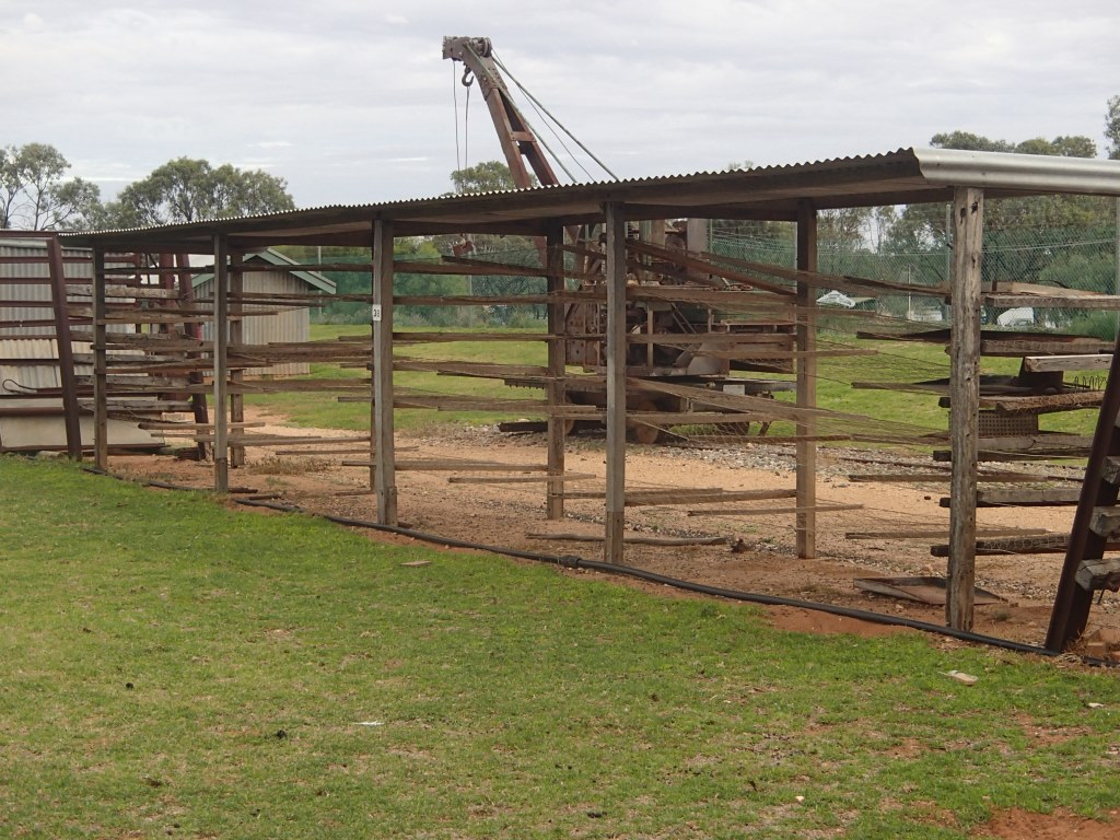 Drying racks - The Village Historic Loxton