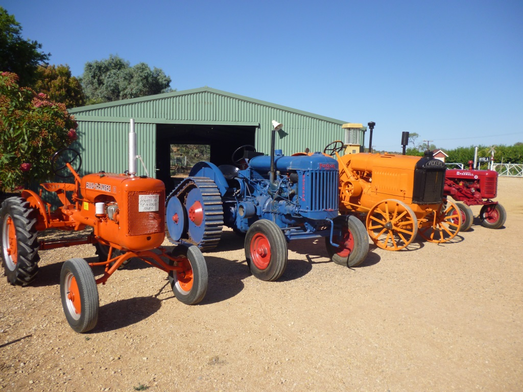 Tractor Shed - Loxton Historical Village